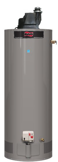 RUUD PRO G PV—Professional Achiever Power Vent Ultra NOx Gas Water Heater