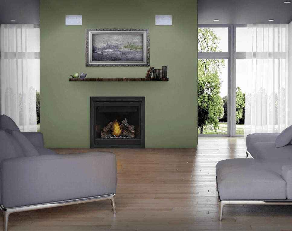 Napoleon Model B36NTR Gas Fireplace Ascent 36