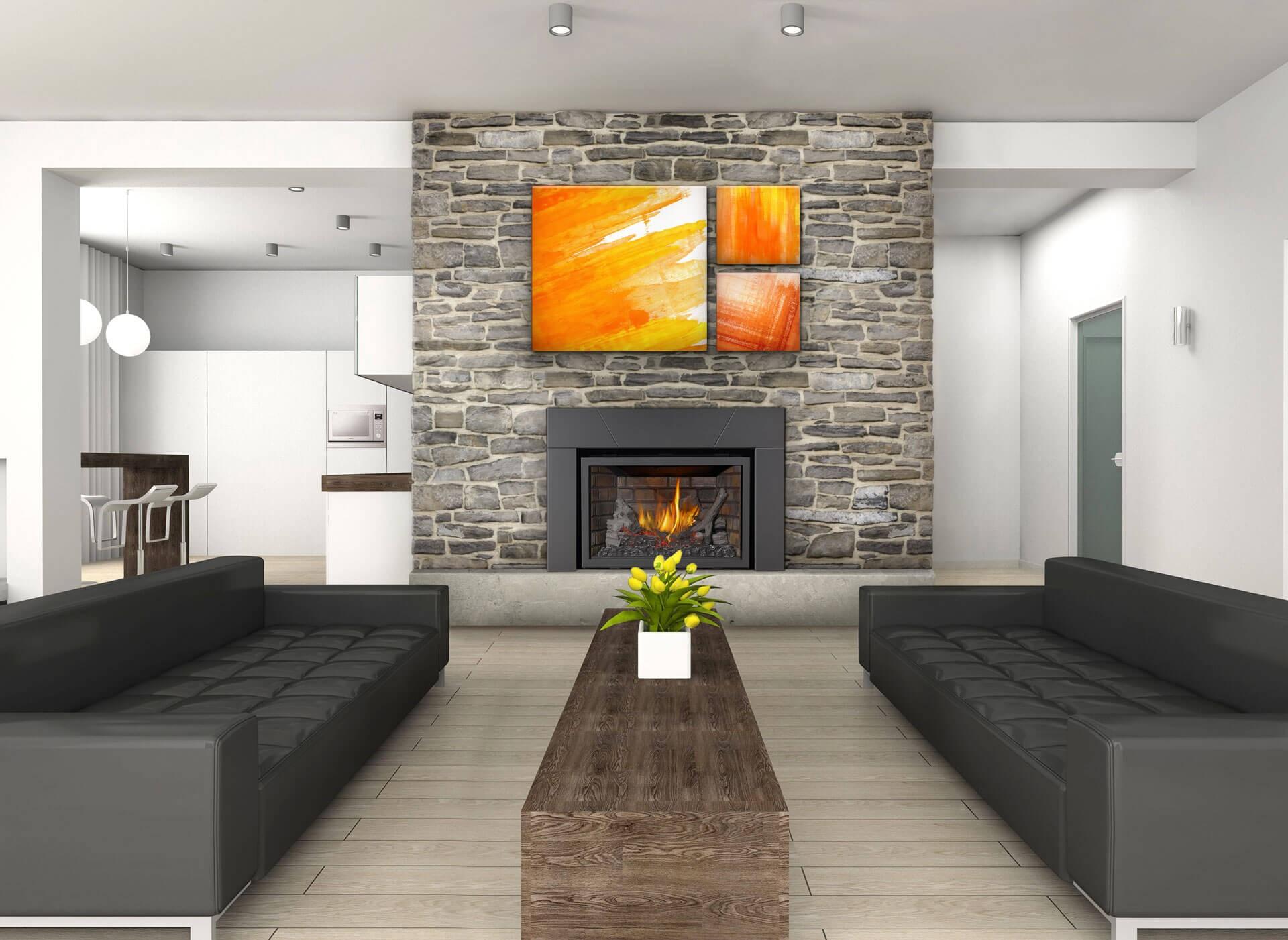 fireplace showroom in waterloo dalton plumbing heating cooling
