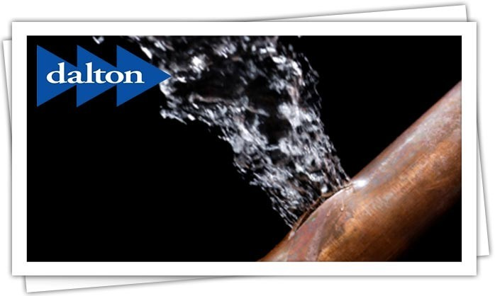 Dalton Plumbing, Heating, Cooling, Electric and Fireplaces, Inc. — Burst Pipe Repair