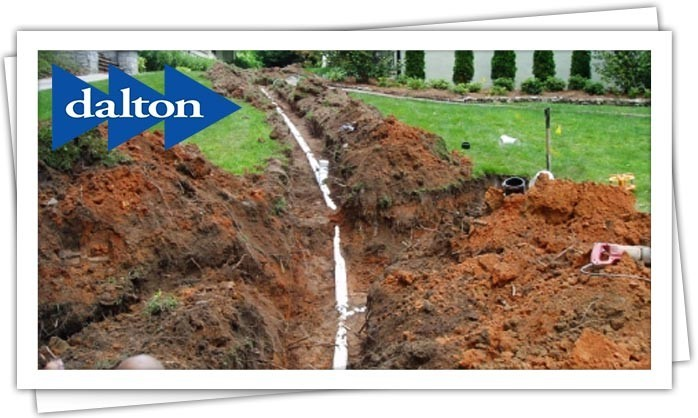 Dalton Plumbing, Heating, Cooling, Electric and Fireplaces, Inc. — Sewer Line Repairs