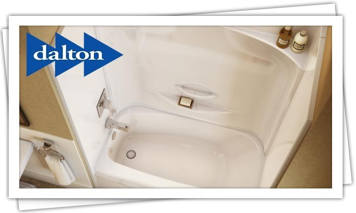 Dalton Plumbing, Heating, Cooling, Electric and Fireplaces, Inc — Showers and Tubs