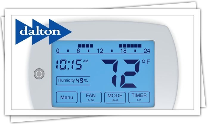 Dalton Plumbing, Heating, Cooling, Electric and Fireplaces, Inc. — Thermostats (WiFi)